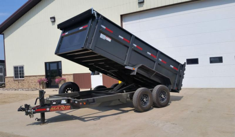 Maxxd 14ft x 83in HD Dump Trailer Trailers Image