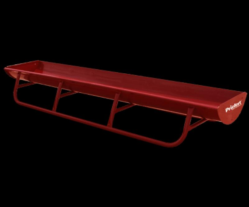 Bunk Feeder with Powder Coat Metal Lining Livestock Image