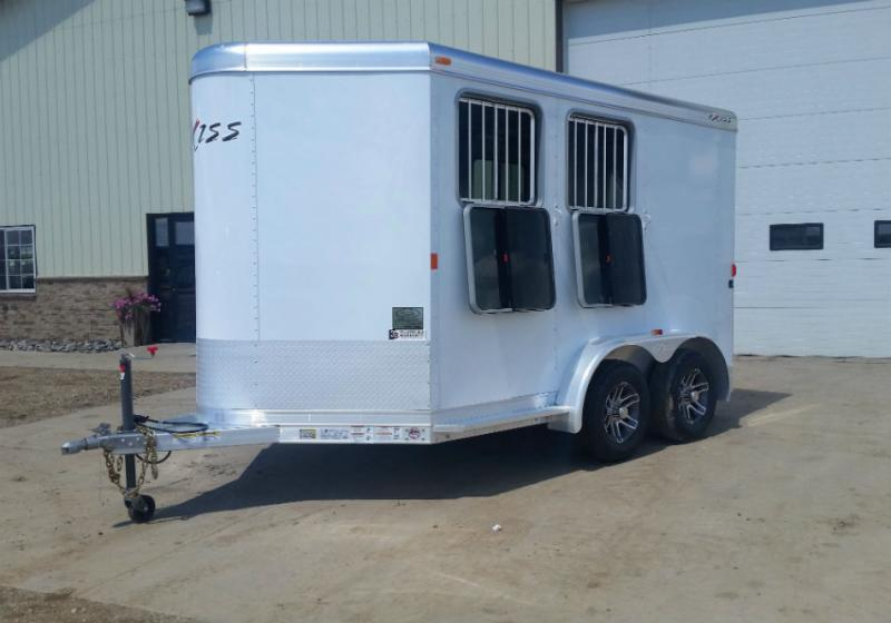 2018 Exiss 2 Horse BP Trailer Trailers Image