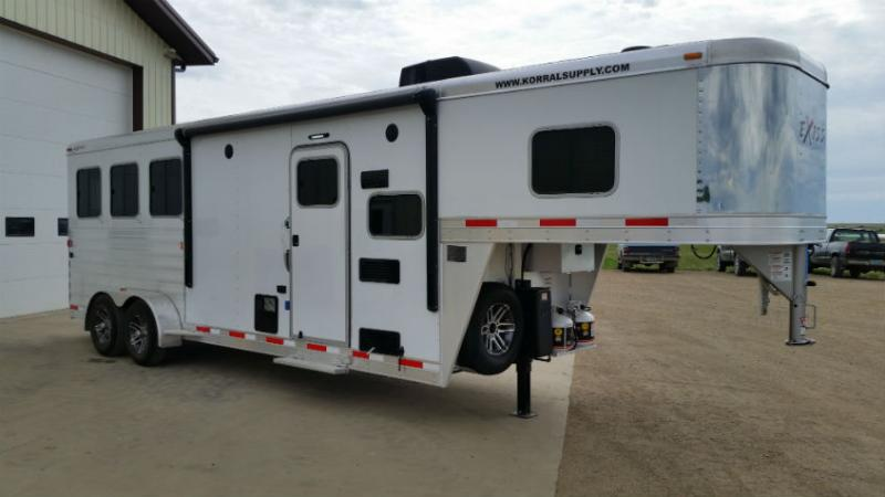 2018 Exiss 3 Horse LQ Trailer Trailers Image