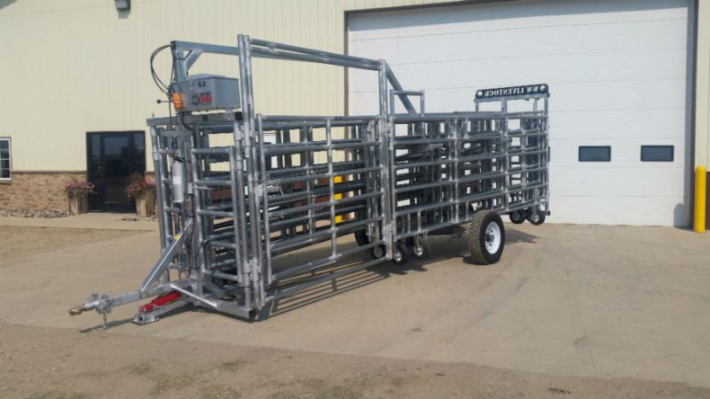 WW Express Portable Corral System  Livestock Image