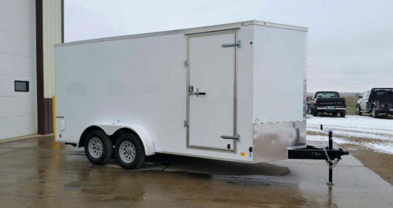 2018 Cargo Mate 7x16 Enclosed Trailer Trailers Image
