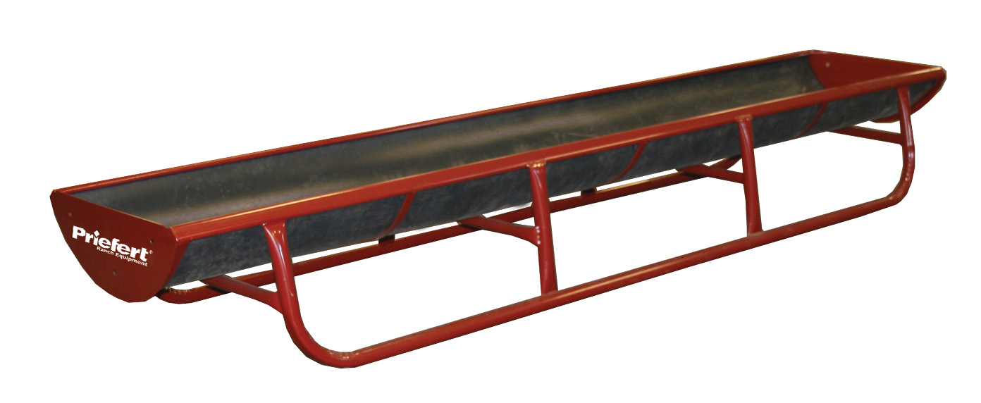 Bunk Feeder with Slide-In Poly Liner Livestock Image