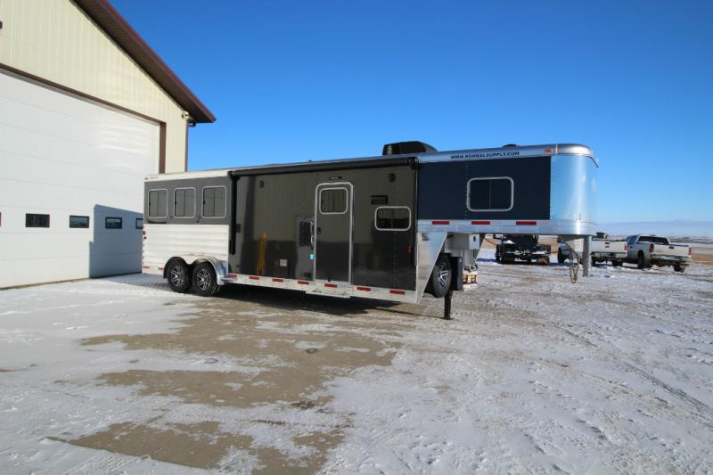 2018 Exiss 3 Horse LQ with 10ft6 LQ Trailer Trailers Image