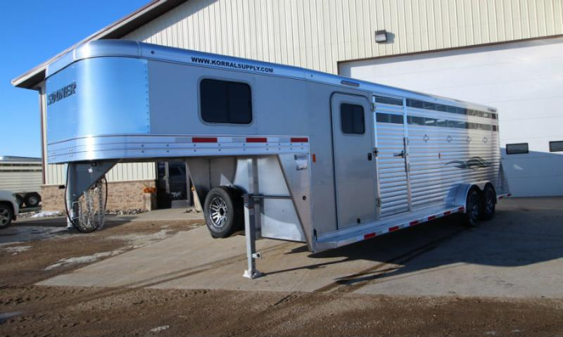 2018 Sooner 7x24 Stock Combo with Equiflex Flooring Trailers Image