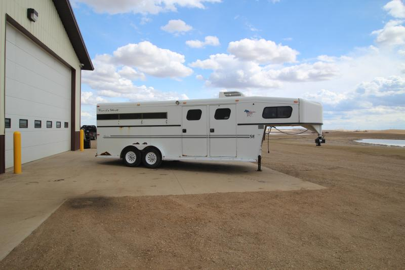 2002 Trails West 3 Horse Trailers Image