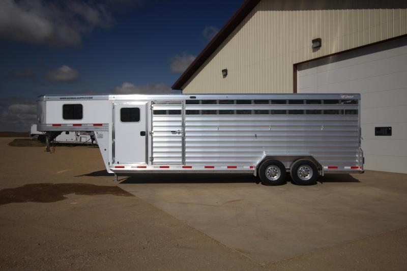2021 Exiss 24ft Stock Combo Trailers Image
