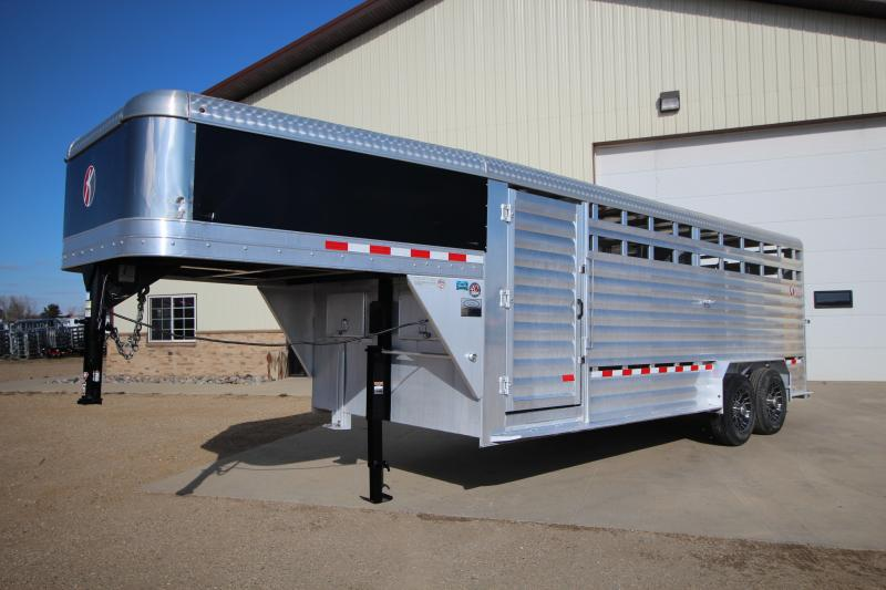 2015 Kiefer 20ft Stock Trailer Trailers Image