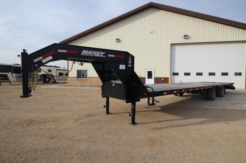 2015 Maxey 36ft Low Pro GN Flatbed Trailers Image