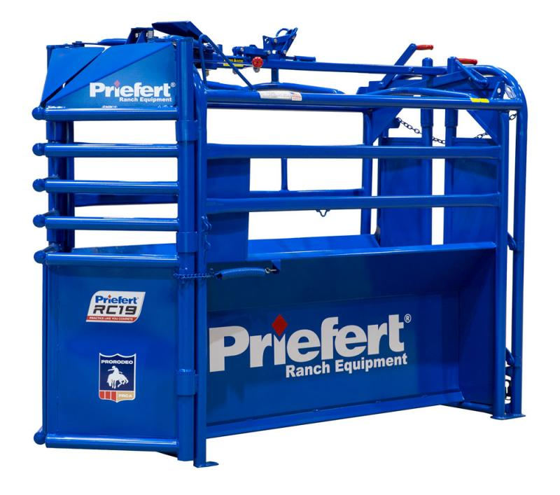 Priefert Manual Roping Chute Rodeo Image
