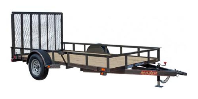Maxxd 12ft Single Axle Trailer Trailers Image
