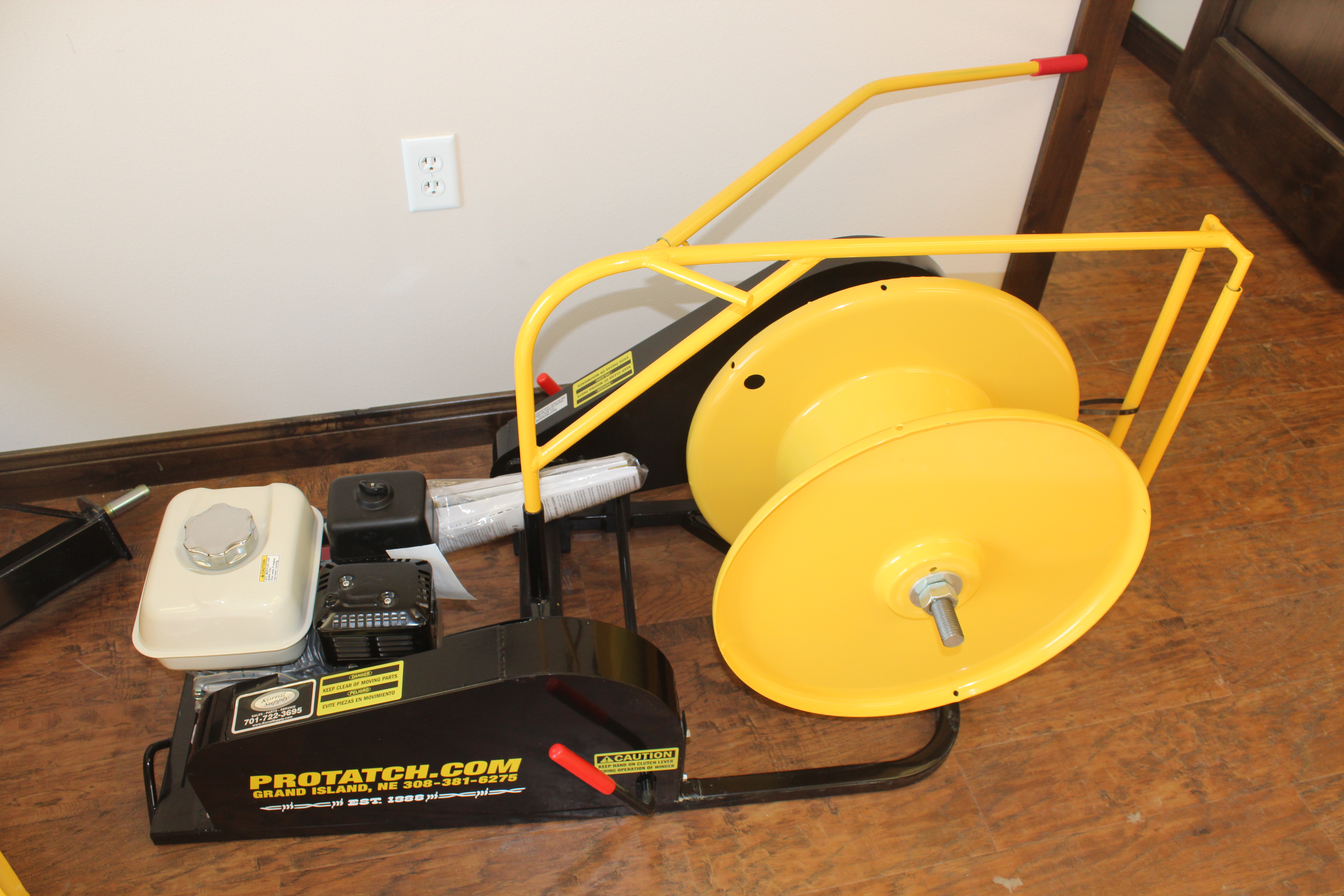 Honda Powered Wire Winder Equipment Image